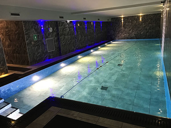 gym spa langdale view guest house
